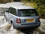 Images of Range Rover Sport UK-spec 2009–13
