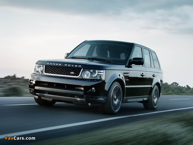 Images of Range Rover Sport Black Edition 2012 (640 x 480)