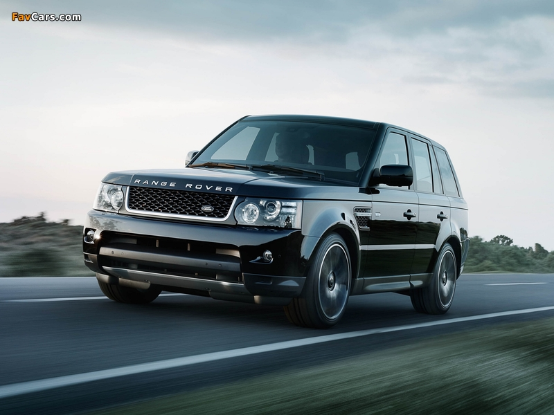 Images of Range Rover Sport Black Edition 2012 (800 x 600)