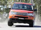 Range Rover Sport Supercharged AU-spec 2005–08 wallpapers