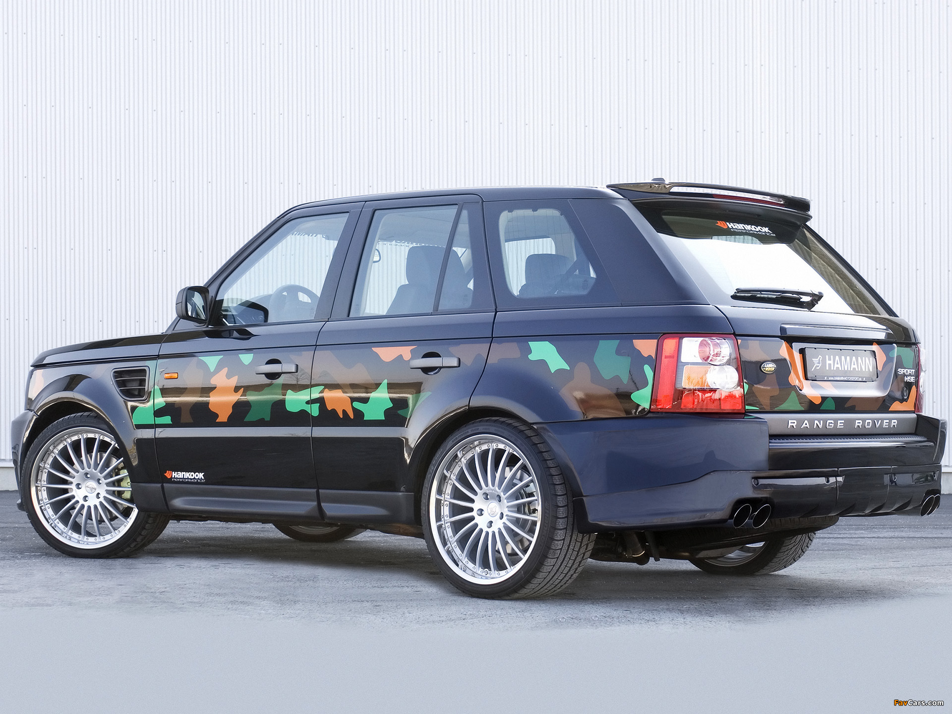 Hamann Range Rover Sport 2006 pictures (1920 x 1440)