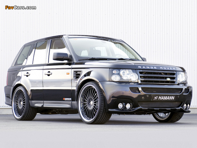 Hamann Range Rover Sport 2006 wallpapers (640 x 480)