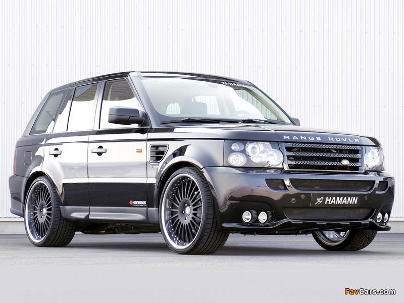 Hamann Range Rover Sport 2006 wallpapers (800 x 600)