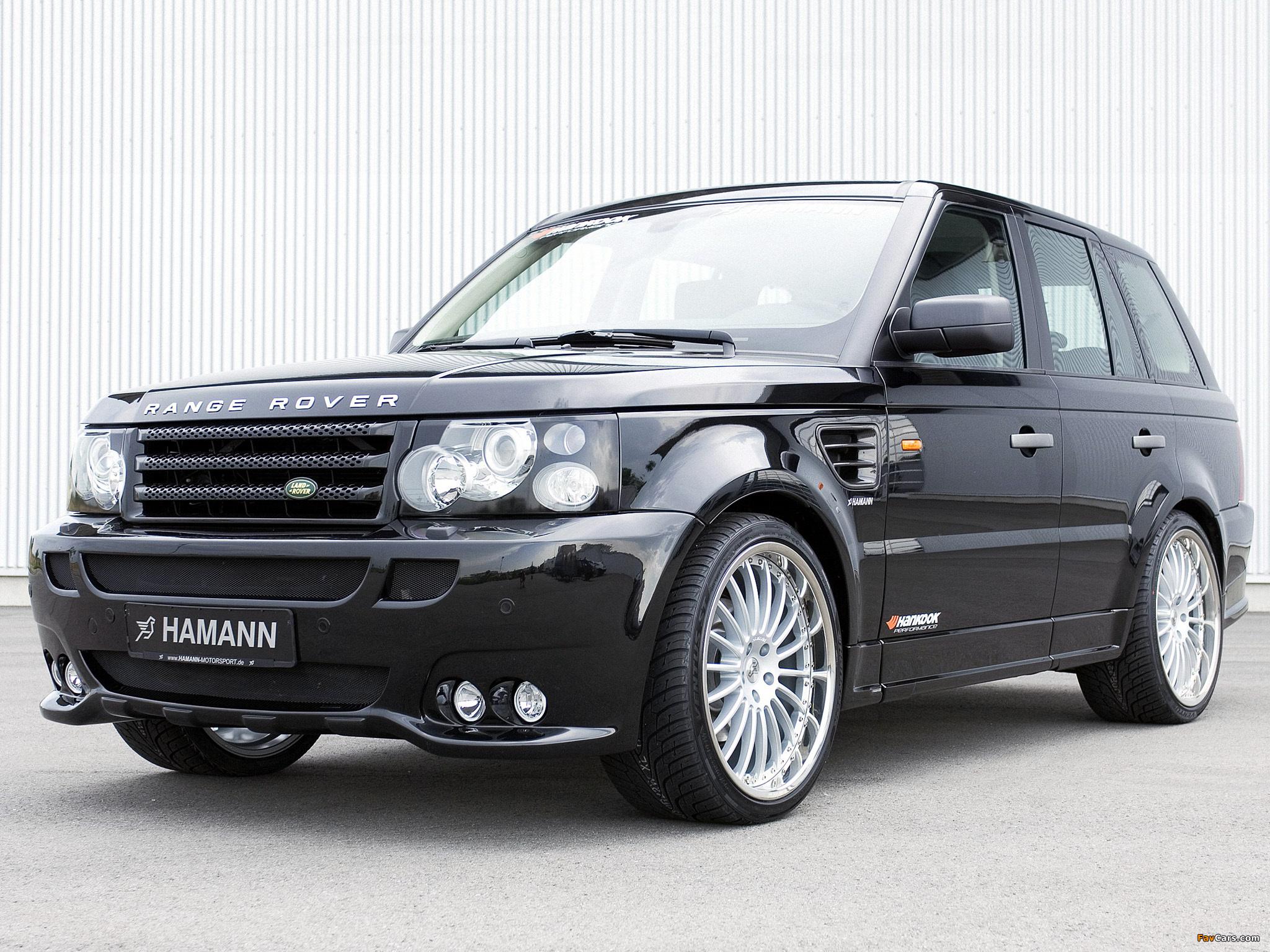 Hamann Range Rover Sport 2006 wallpapers (2048 x 1536)
