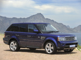Range Rover Sport Supercharged ZA-spec 2009–13 images