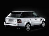 Range Rover Sport Supercharged UK-spec 2009–13 photos