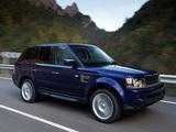 Range Rover Sport UK-spec 2009–13 pictures