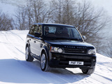 Range Rover Sport UK-spec 2009–13 pictures