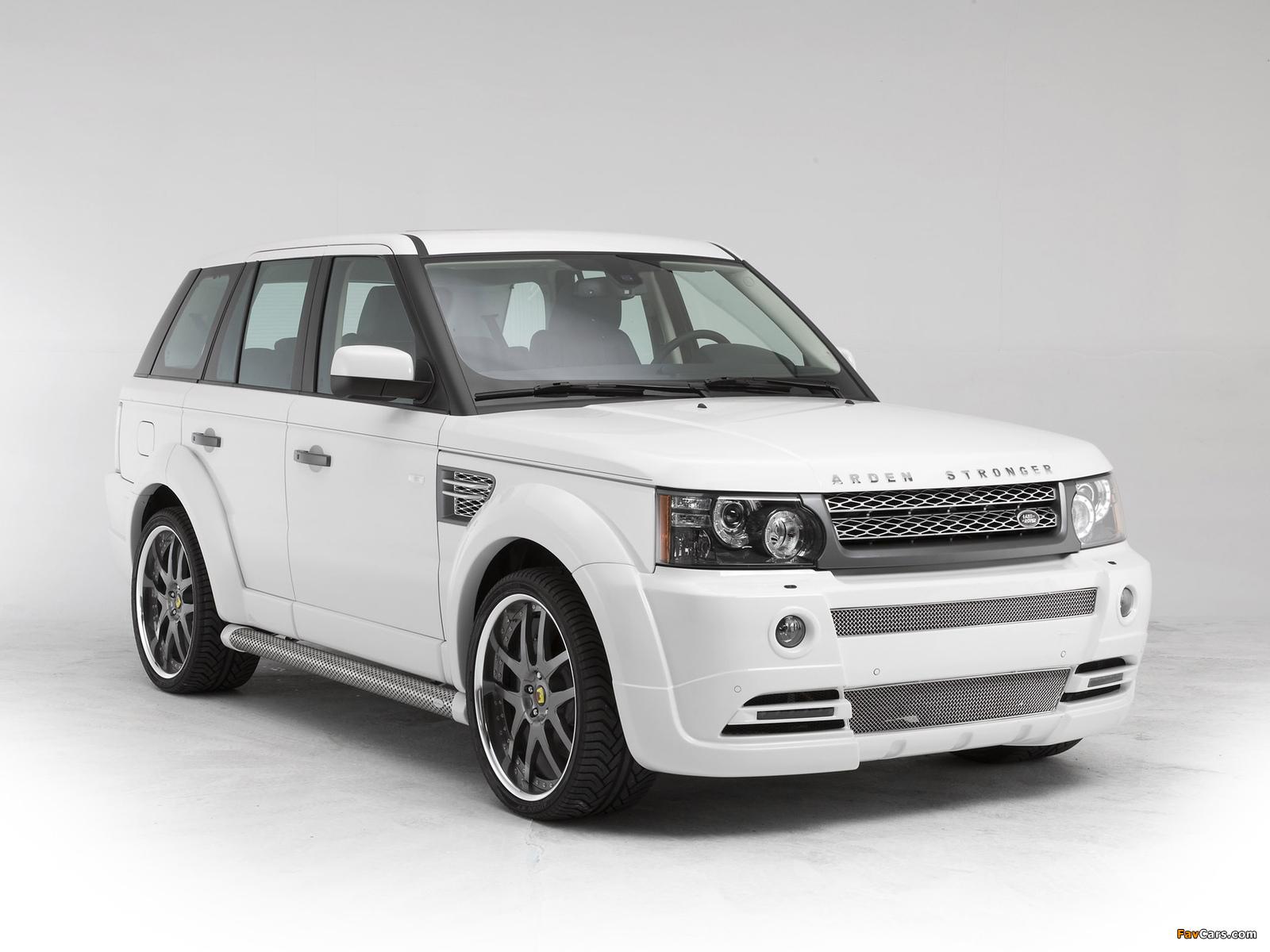 Arden Range Rover Sport AR6 Stronger 2010 images (1600 x 1200)
