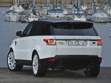 Range Rover Sport Supercharged ZA-spec 2013 images