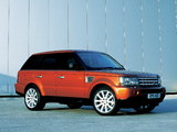 Photos of Range Rover Sport Supercharged 2005–08