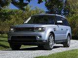 Photos of Range Rover Sport Supercharged US-spec 2009–13