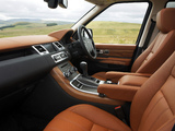 Photos of Range Rover Sport Supercharged UK-spec 2009–13