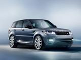 Photos of Range Rover Sport 2013