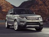 Photos of Range Rover Sport HSE AU-spec 2013