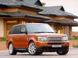 Pictures of Range Rover Sport Supercharged ZA-spec 2005–08