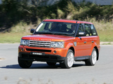 Pictures of Range Rover Sport Supercharged AU-spec 2005–08