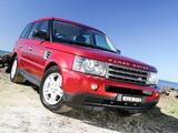Pictures of Range Rover Sport AU-spec 2005–08
