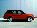 Pictures of Range Rover Sport Supercharged 2005–08