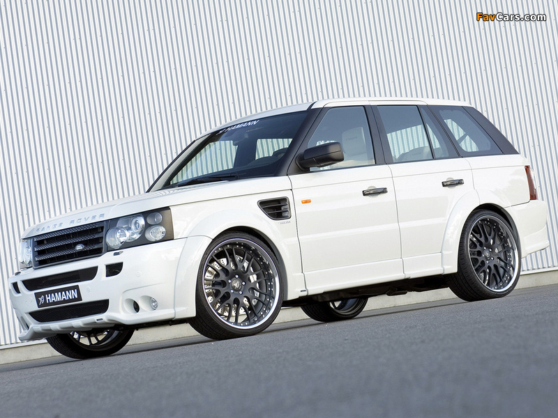 Pictures of Hamann Range Rover Sport Conqueror 2007 (800 x 600)