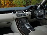 Pictures of Range Rover Sport UK-spec 2009–13