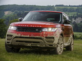 Pictures of Range Rover Sport Supercharged UK-spec 2013