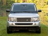 Pictures of Range Rover Sport US-spec 2005–08