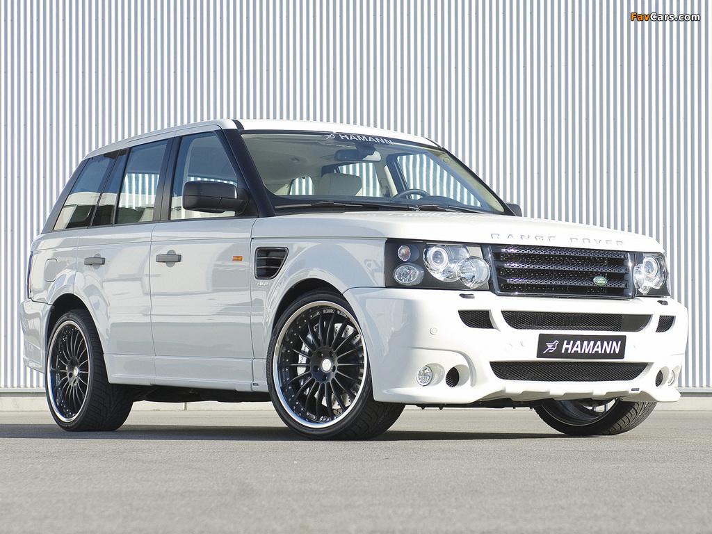 Hamann Range Rover Sport Conqueror 2007 wallpapers (1024 x 768)