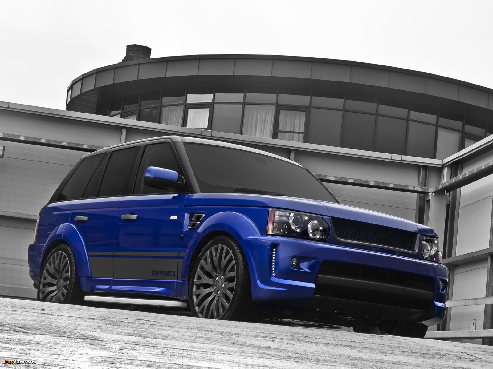 Project Kahn Cosworth Range Rover Sport 300 2008 wallpapers (1600 x 1200)