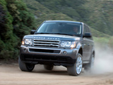 Range Rover Sport Supercharged US-spec 2008–09 wallpapers