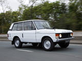 Range Rover 3-door 1970–86 pictures