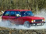 Range Rover EU-spec 1986–96 photos