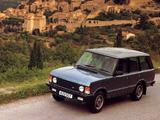 Range Rover UK-spec 1986–96 photos