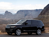 Range Rover Autobiography V8 US-spec (L405) 2013 photos