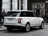 Range Rover Autobiography Black LWB UK-spec (L405) 2014 images