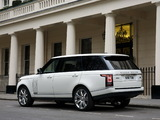 Range Rover Autobiography Black LWB UK-spec (L405) 2014 wallpapers