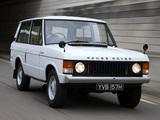 Photos of Range Rover 3-door 1970–86