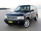 Photos of Range Rover Supercharged AU-spec (L322) 2005–09