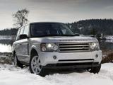 Photos of Range Rover Vogue UK-spec (L322) 2005–09