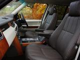 Photos of Range Rover Autobiography UK-spec 2009