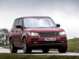 Photos of Range Rover SVAutobiography Dynamic UK-spec (L405) 2016