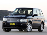 Pictures of Range Rover Supercharged AU-spec (L322) 2005–09
