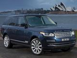 Pictures of Range Rover Vogue SE SDV8 AU-spec (L405) 2013