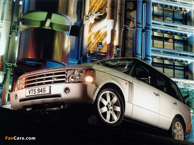 Pictures of Range Rover 2002–05 (640 x 480)