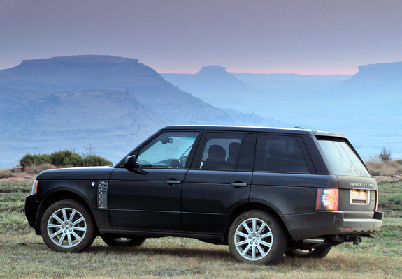 Rover Supercharged ZAspec L322 200912 wallpapers