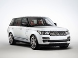 Range Rover Autobiography Black LWB (L405) 2014 wallpapers