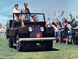 Images of Land Rover Series I Royal Car 1954