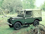 Land Rover Series I 80 Soft Top 1948–54 photos