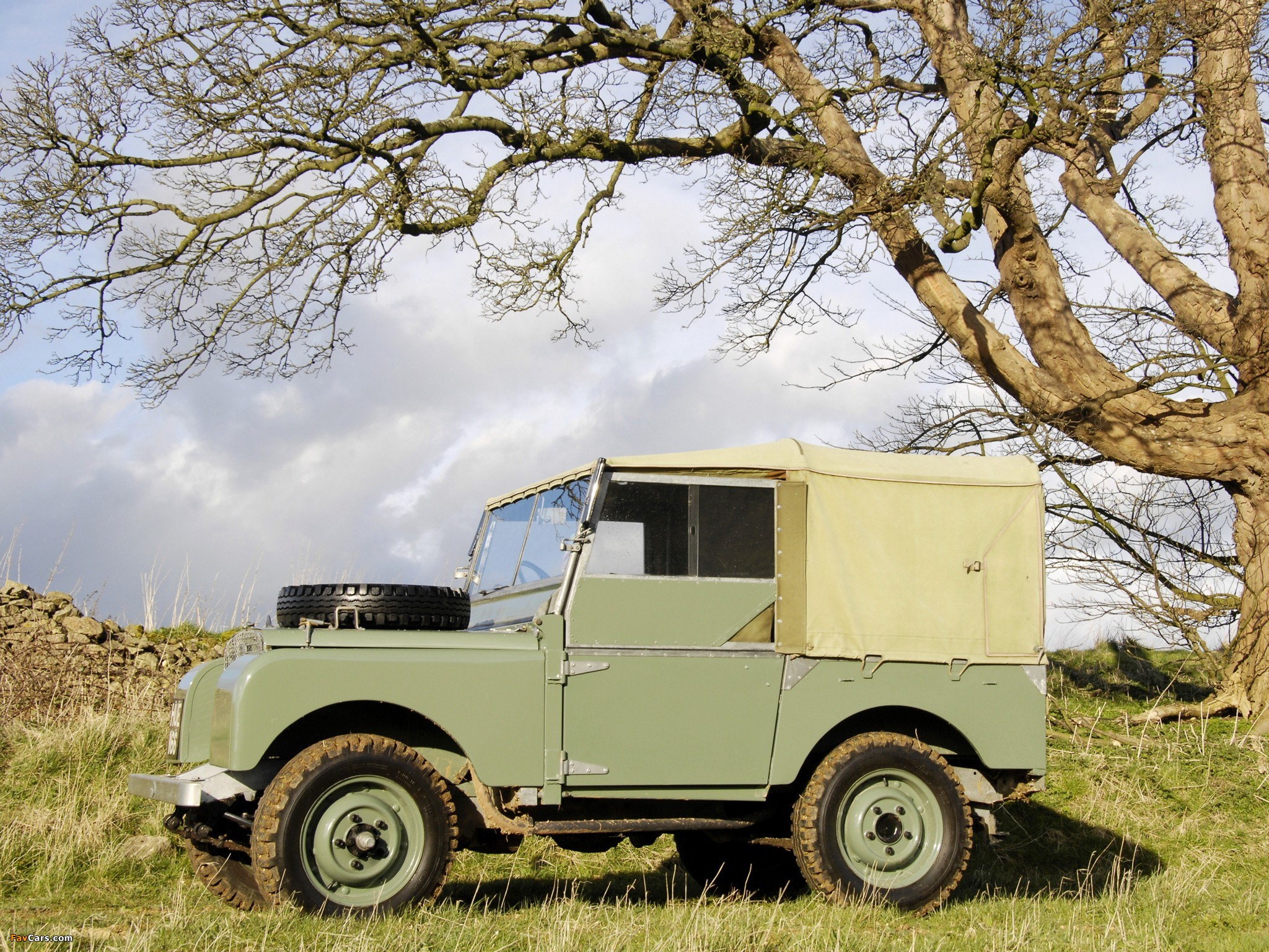 Land Rover Series I 80 Soft Top 1948 54 Wallpapers 2048x1536