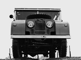 Photos of Land Rover Series I 107 Station Wagon 1948–54